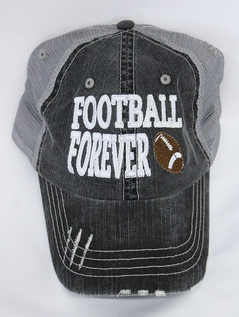 Football Forever Ball Cap - orangeshine.com
