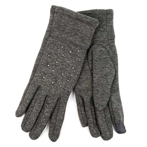 Charcoal Touch Screen Women Gloves - orangeshine.com