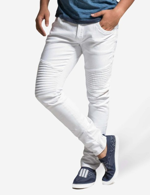 Biker Stretch Denim Pants Sli Fit - orangeshine.com