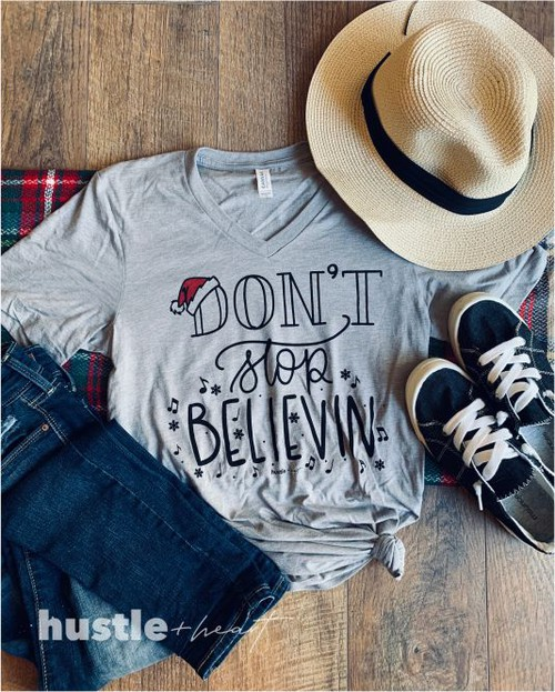 Dont Stop Believin Tee - orangeshine.com