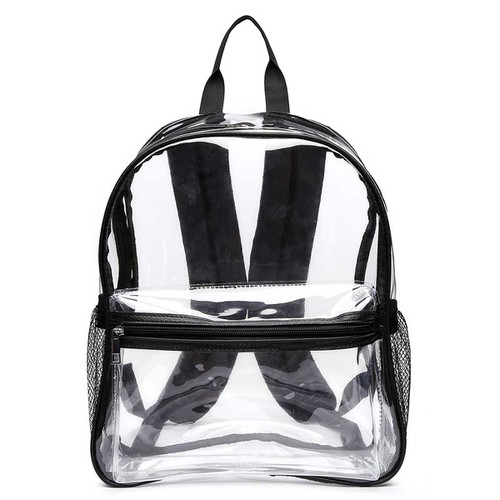 Large Premium Clear Backpack - orangeshine.com