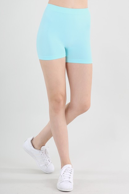 Boy Shorts With Elastic Band - orangeshine.com