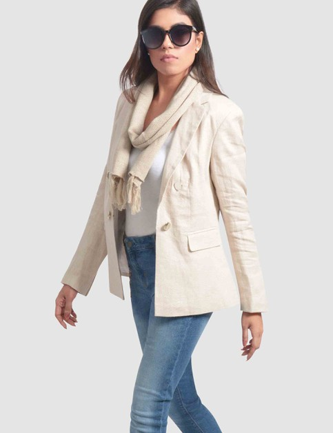 Womens Double Breasted Blazer - orangeshine.com
