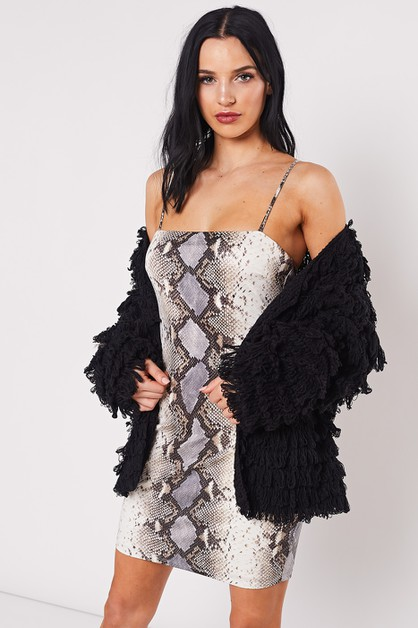 FRINGE FUR JACKET - orangeshine.com