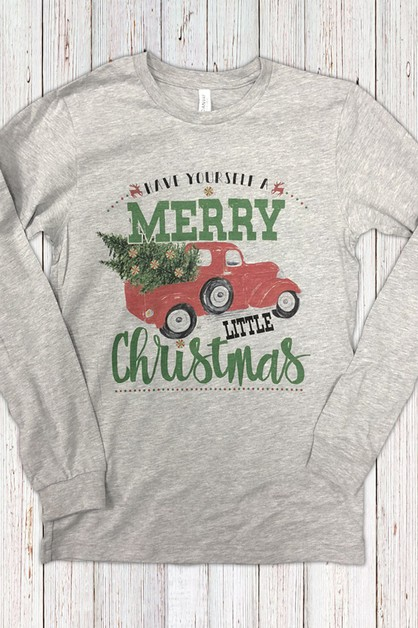 Merry Little Christmas Truck LS - orangeshine.com