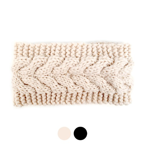 Women Knit Winter Headband  - orangeshine.com