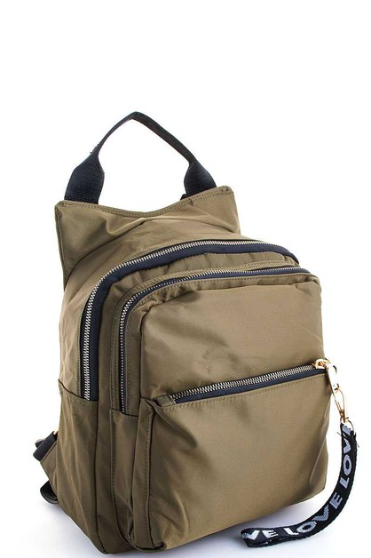 Trendy Multi Pockets Backpack - orangeshine.com