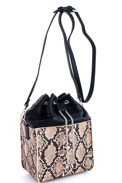 Cute Luxury Snake Pattern Crossbody  - orangeshine.com