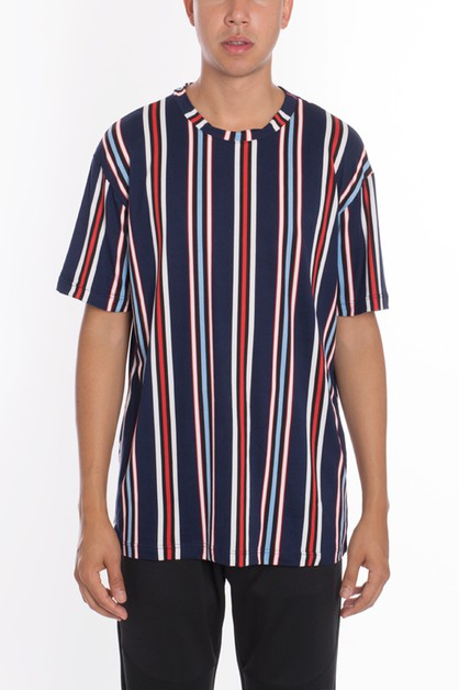 VERTICAL STRIPES T-SHIRTS - orangeshine.com