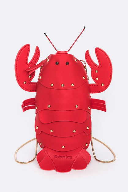 Iconic Lobster Crossbody Clutch Bag - orangeshine.com