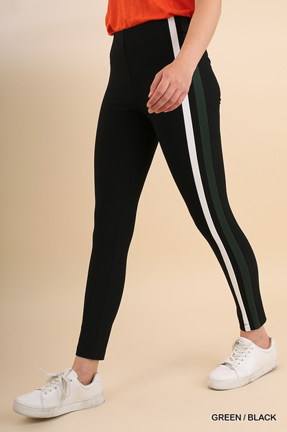 High Waist Stretch Leggings - orangeshine.com