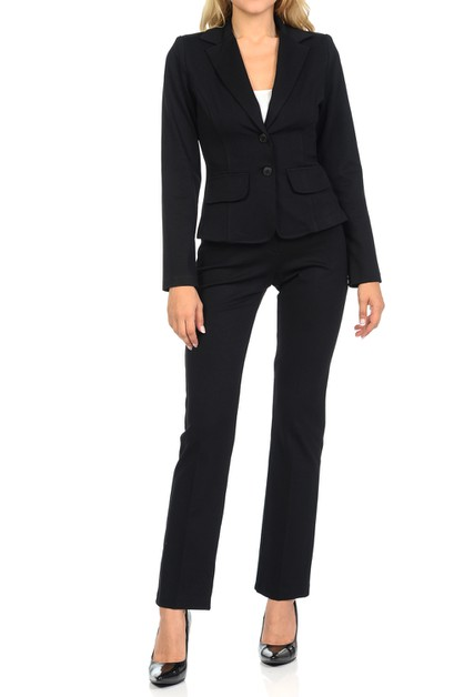 Women Classic Business Suit Set - orangeshine.com