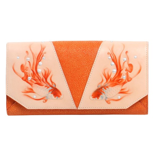 Fish Crossbody Orange - orangeshine.com