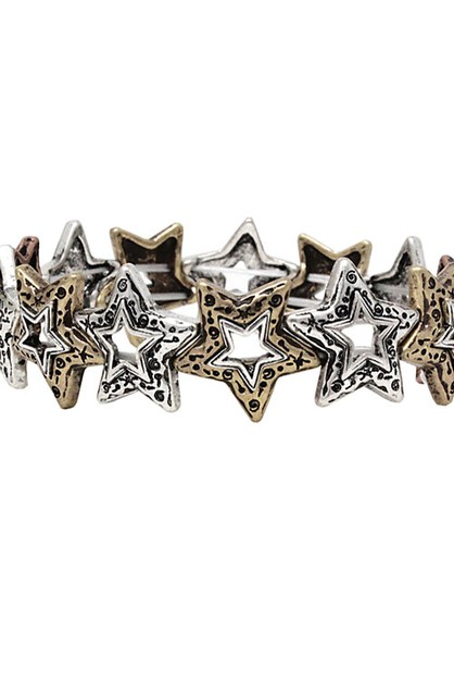 Starfish Stretch Bracelet - orangeshine.com