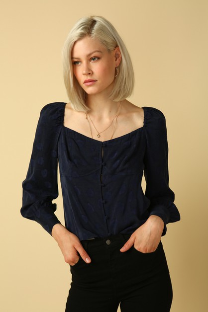 Millie Blouse - orangeshine.com
