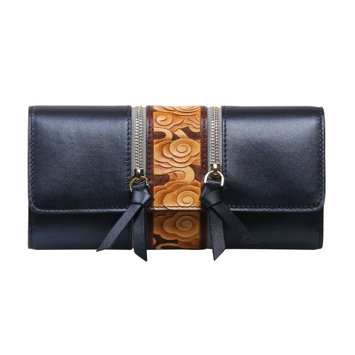 Cloud Wallet Black - orangeshine.com