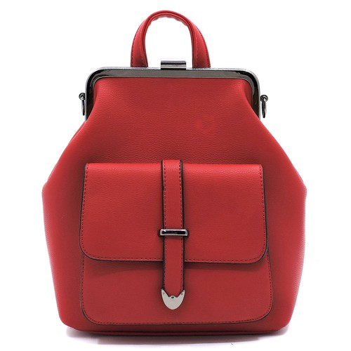 Fashion Front Pocket Backpack - orangeshine.com
