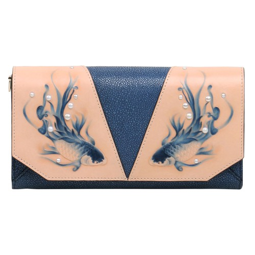 Fish Crossbody Blue - orangeshine.com