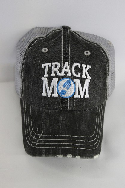 Track Mom Ball Cap - orangeshine.com