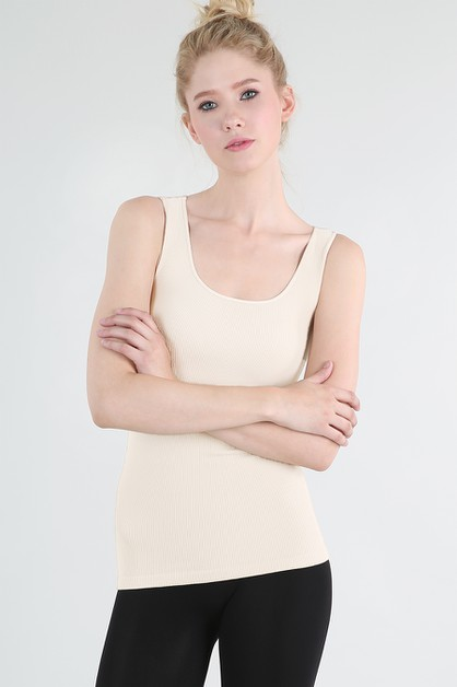 Rib Tank Top - orangeshine.com
