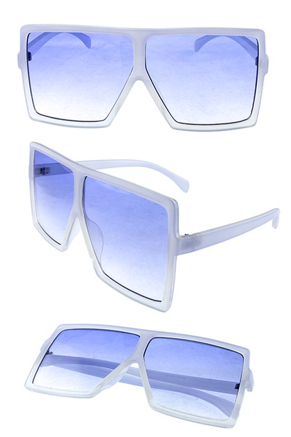 Women base fashion shaped sunglasses - orangeshine.com