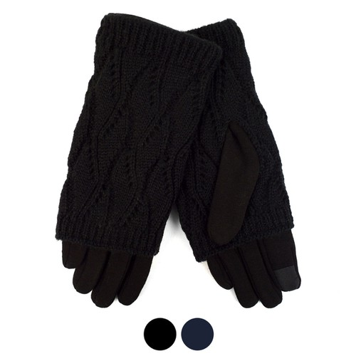 Knitted Touch Screen Women Gloves - orangeshine.com