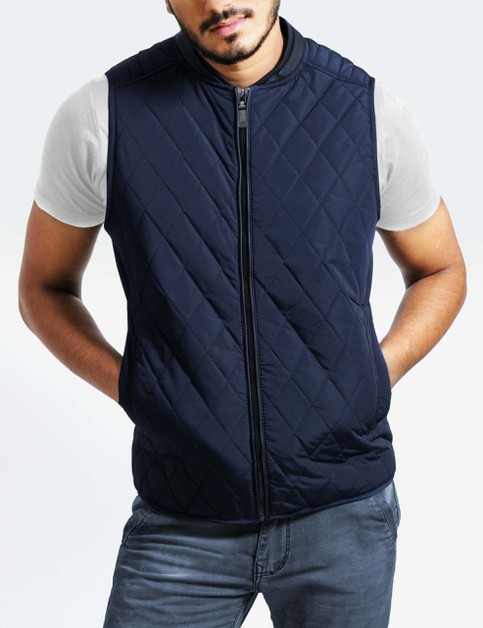 Mens Quilted Vest - orangeshine.com