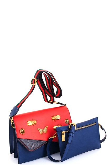 rendy Insects Crossbody Bag - orangeshine.com