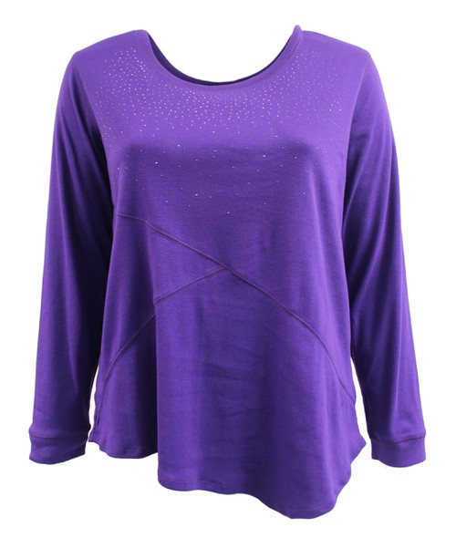 Eggpla Long Sleeve Sweater Plus Size - orangeshine.com