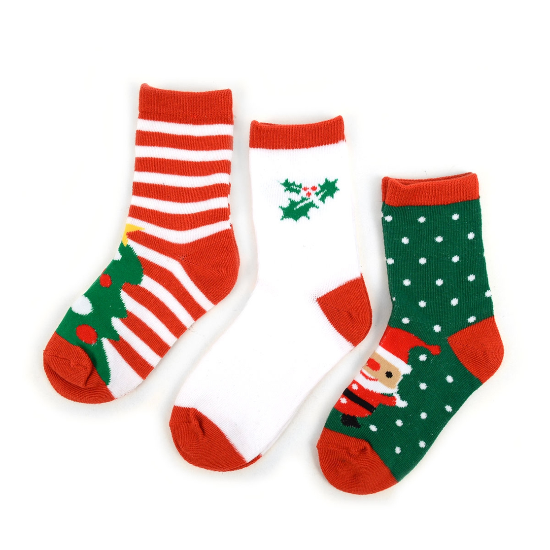 SELINI NY Wholesale Kids Christmas Holidays Crew Socks | Orangeshine.com