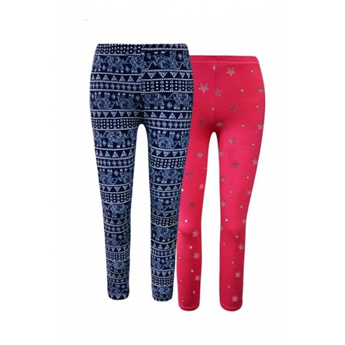 Girls Twin Packs Leggings Kids Pants - orangeshine.com