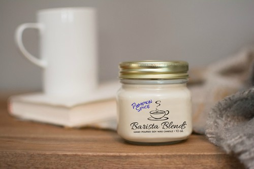 Barista Blends Soy Wax Coffee Candle - orangeshine.com