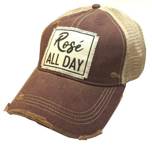 Rose All Day Trucker Hat - orangeshine.com