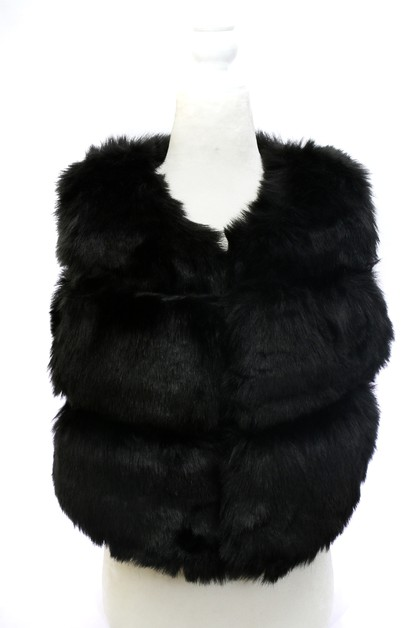 Winter Faux Fur vest - orangeshine.com
