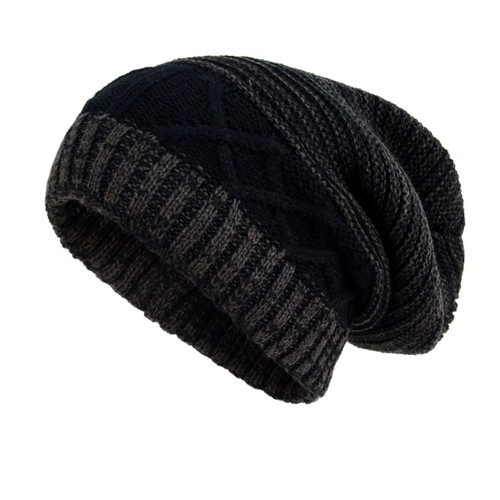 Slouchy Oversized Winter Beanie Hat - orangeshine.com