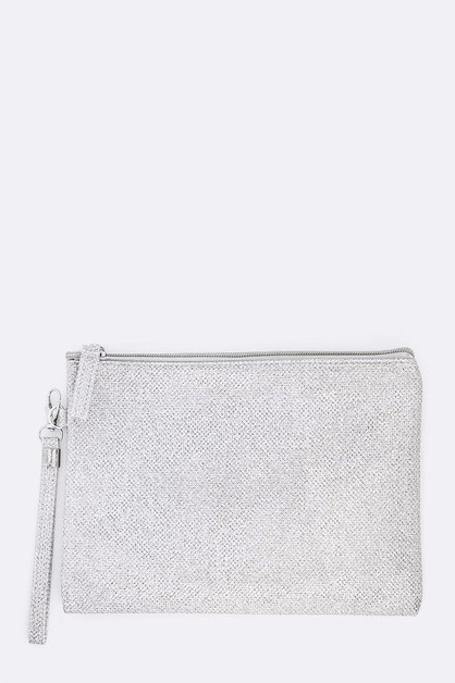 Mesh Textured Soft Pouch - orangeshine.com
