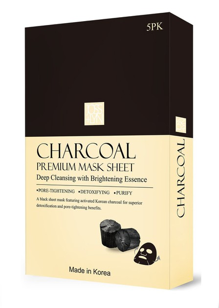 JOSS LYN CHARCOAL PREMIUM MASK SHEET - orangeshine.com