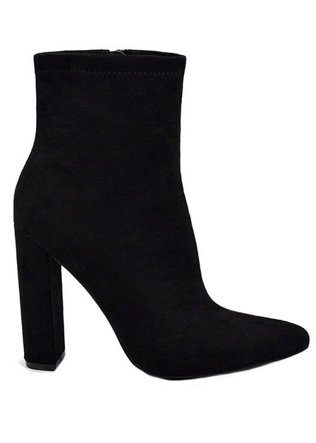ANKLE BOOTIE HIGH HEEL POINTY TOE WI - orangeshine.com
