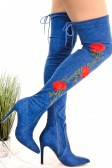 thigh high heel boots - orangeshine.com
