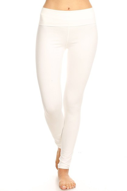 FOLD BAND LEGGING - orangeshine.com