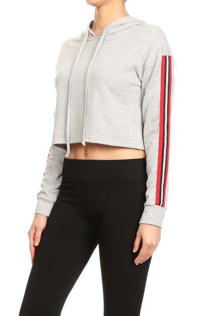 Hoodies Sports Crops Tops Activewear - orangeshine.com