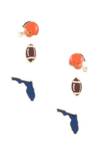 FLORIDA STATE GAME POST EARRING - orangeshine.com