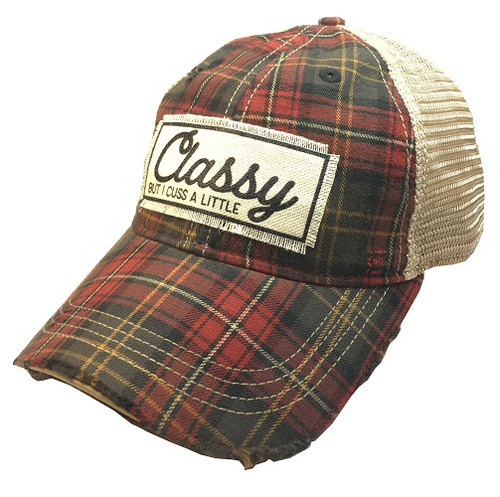 Classy But I Cuss A Little Trucker  - orangeshine.com