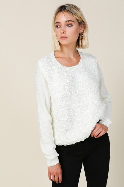 Jackson Teddy Sweater - orangeshine.com
