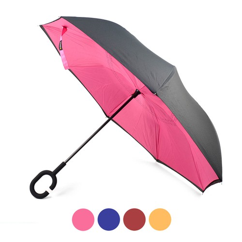 Solid Color Inverted Umbrella - orangeshine.com