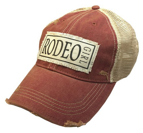 Rodeo Girl Trucker Hat - orangeshine.com