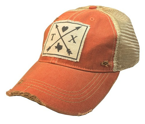 Texas Arrows State Trucker Hat - orangeshine.com