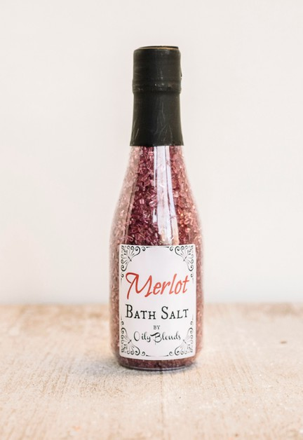 Merlot Scented Bath Salt - orangeshine.com