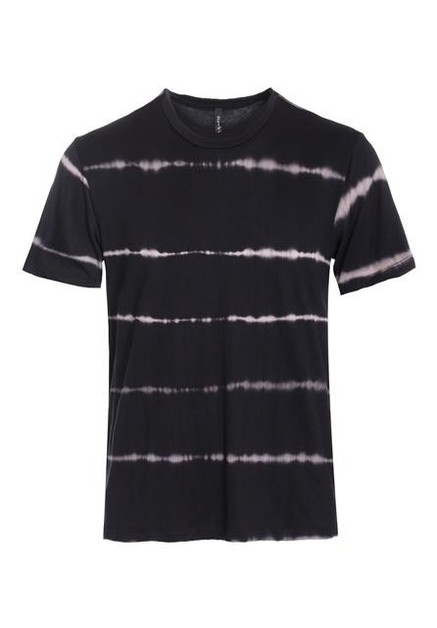T SHIRTS with bleach striped pattern - orangeshine.com