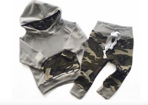 Camouflage 2 pieces Baby set - orangeshine.com